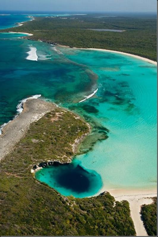 Lindas imagens de cavernas nas Bahamas (5)