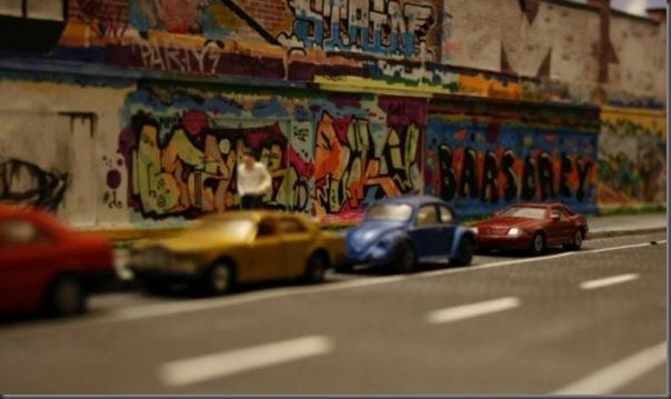 Grafite em miniatura