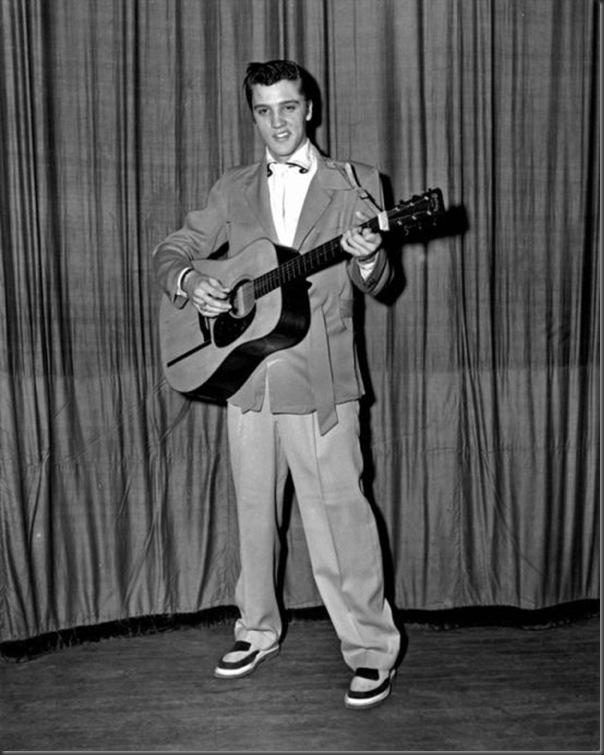 Fotos raras de Elvis Presley (3)