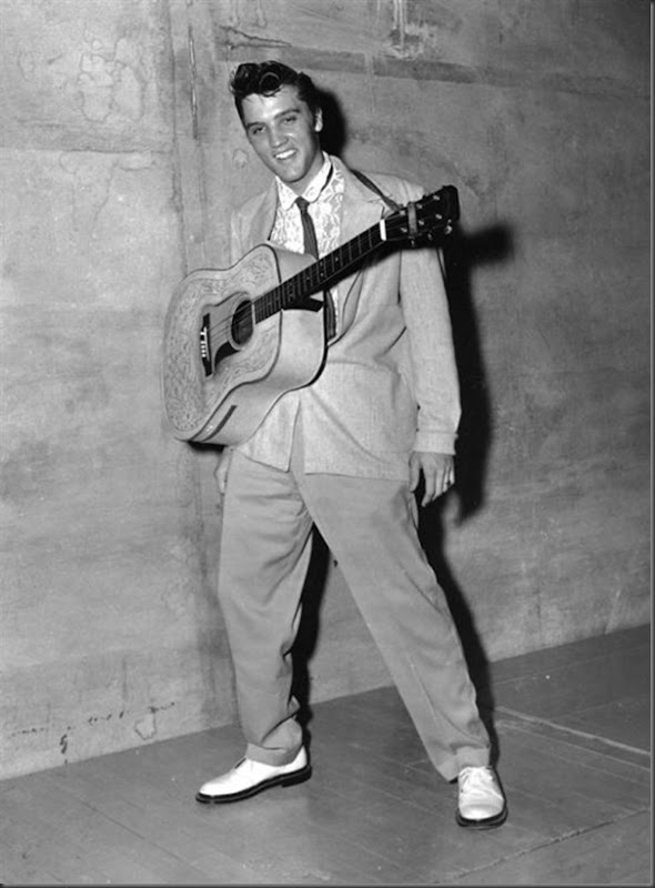 Fotos raras de Elvis Presley