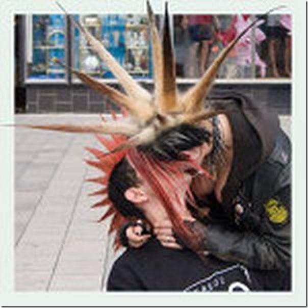 Os punks também amam (5)