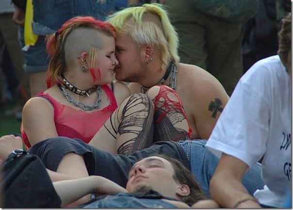 Os punks também amam