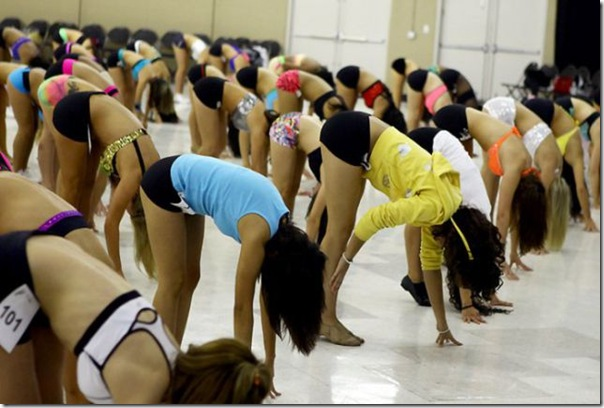 Treinamento e seleção das Cheerleaders (7)