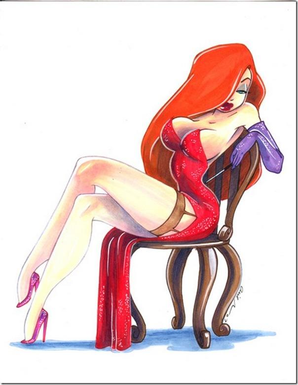 Jessica Rabbit a personagem mais sensual da Disney (4)