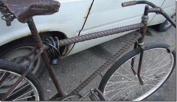 Bicicleta super resistente