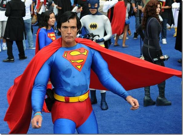 Maior reunião de super-heróis