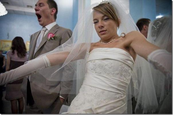 A alegria do casamento