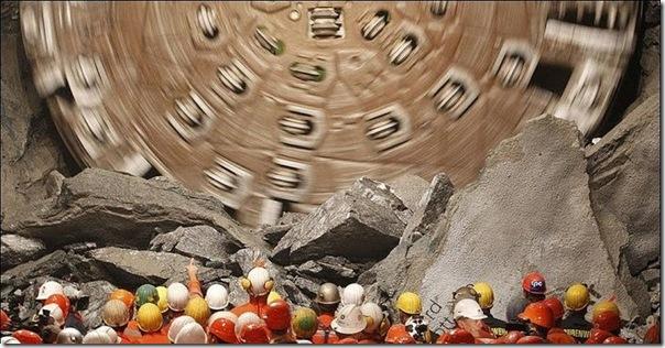 O maior túnel do mundo