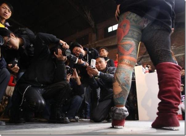 Festival Internacional de Tatuagem em Pequim (18)