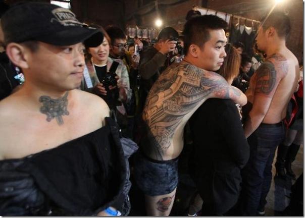 Festival Internacional de Tatuagem em Pequim (14)