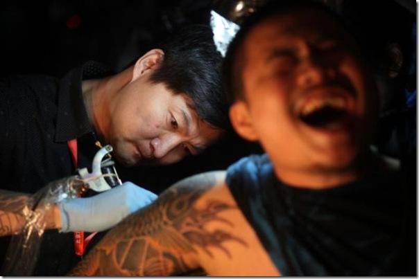 Festival Internacional de Tatuagem em Pequim (8)