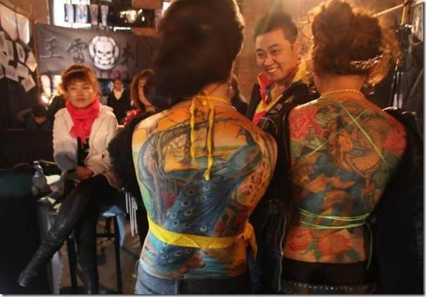Festival Internacional de Tatuagem em Pequim