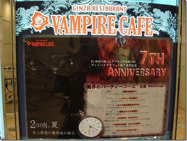 Vampiro Café em Tóquio (2)