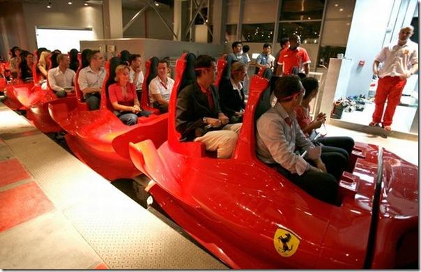 Ferrari World Abu Dhabi nos Emirados Árabes (3)