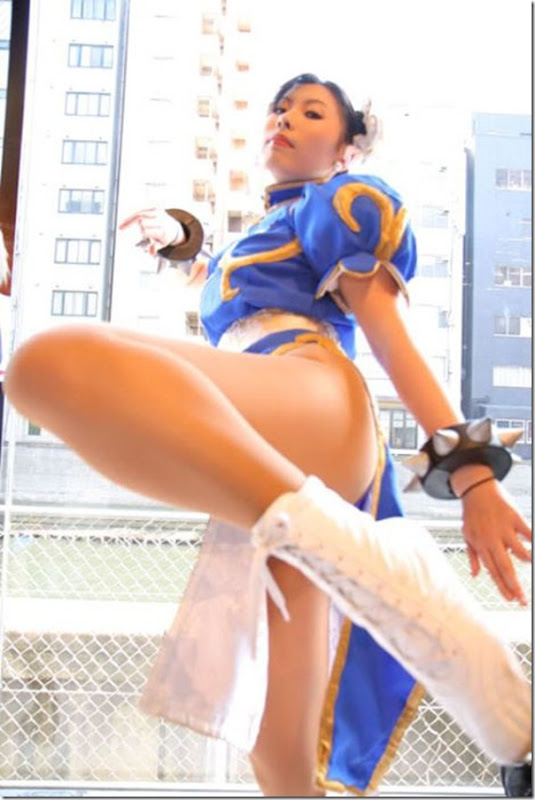 Belissimas garotas vestidas como personagens de video game (9)