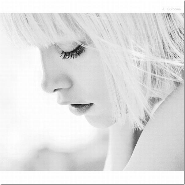 Belíssimos retratos de garotas em preto e branco (15)