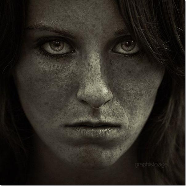 Belíssimos retratos de garotas em preto e branco (14)