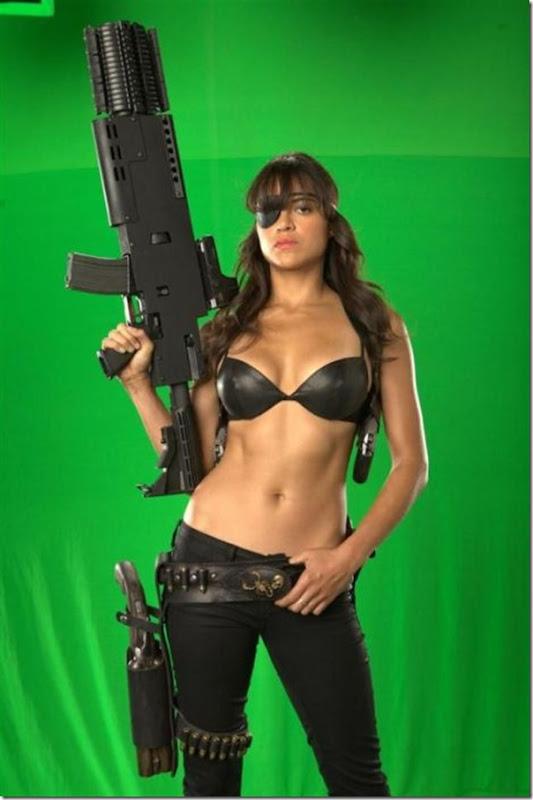 Belas atrizes do filme Machete (2)