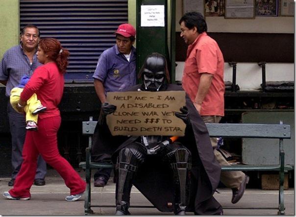 Darth Vader precisa de um emprego