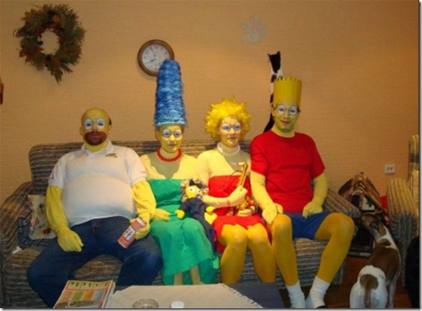 Os simpsons na vida real
