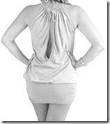 vestido curto - anos 20