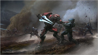 Halo: Reach - Arte conceptual de multiplayer