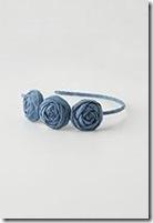 3 rosette headband