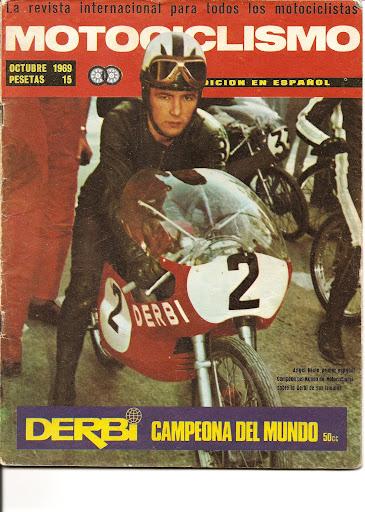 Revista Motociclismo 1969 MM16