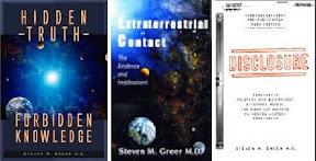 Dr. Steven Greer's Three Books