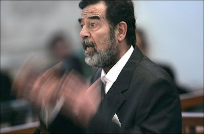 Saddam Hussein on Trial