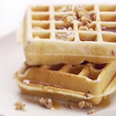 Pancetta and Cinnamon Waffles
