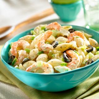 shrimp and blue cheese pasta salad framed cooks salt crumbled blue ...