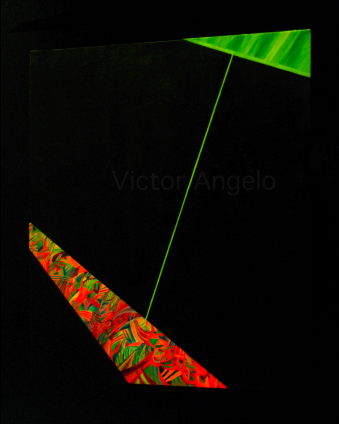 Victor Angelo conceptual painting minimalism