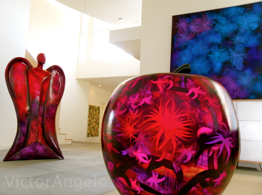 Victor Angelo gallery showcase interior architecture