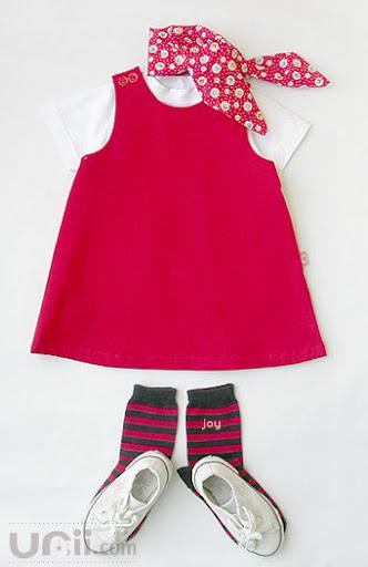 طريقة خياطة فستان طفلة 4538827055
