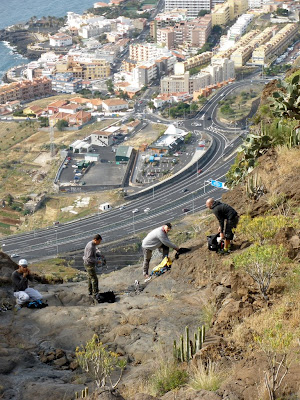 Photo of  Tenerife. Barranco Lomo Alferez