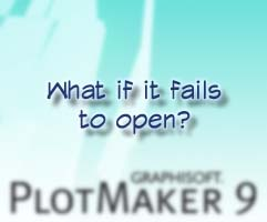 Plotmaker 9 File Does Not Open