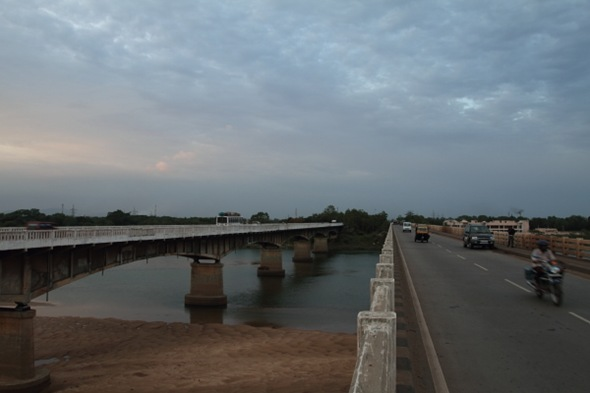 Mahanadi River Bridge, Orissa