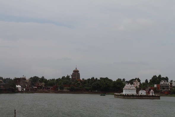 Lingaraj Temple View
