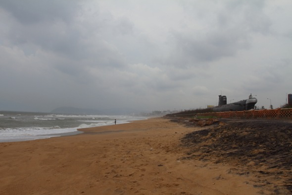 Submarine Museum and Ramakrishna Beach, Vizag