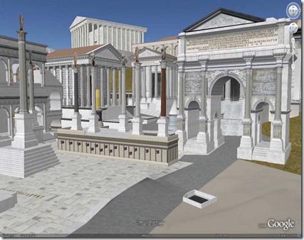 Rome 2.0 Google Earth