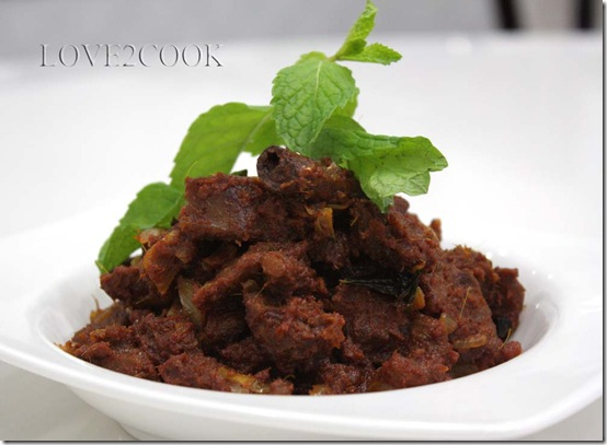 Mutton poriyal