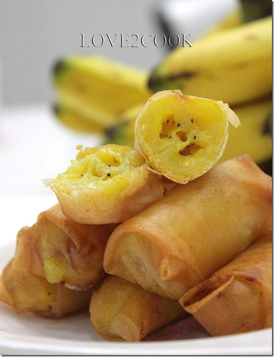 banana springroll