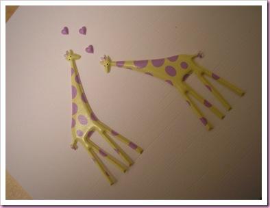 Girafe Valentine