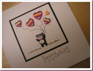 Panda Card 2