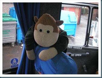 On Mrs C's Bus
