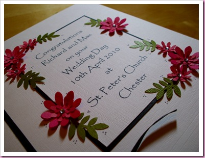 Weddong card 2