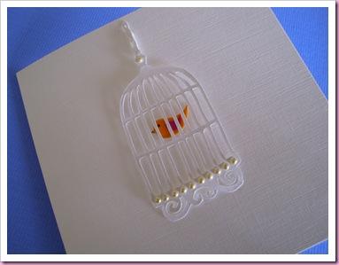 Bird cage Card 3