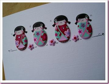 Giesha Girls Card