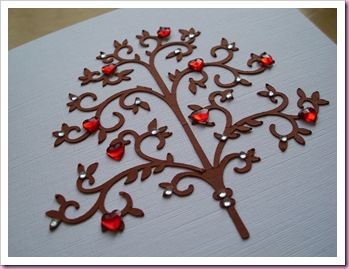 Heart & Diamond Tree